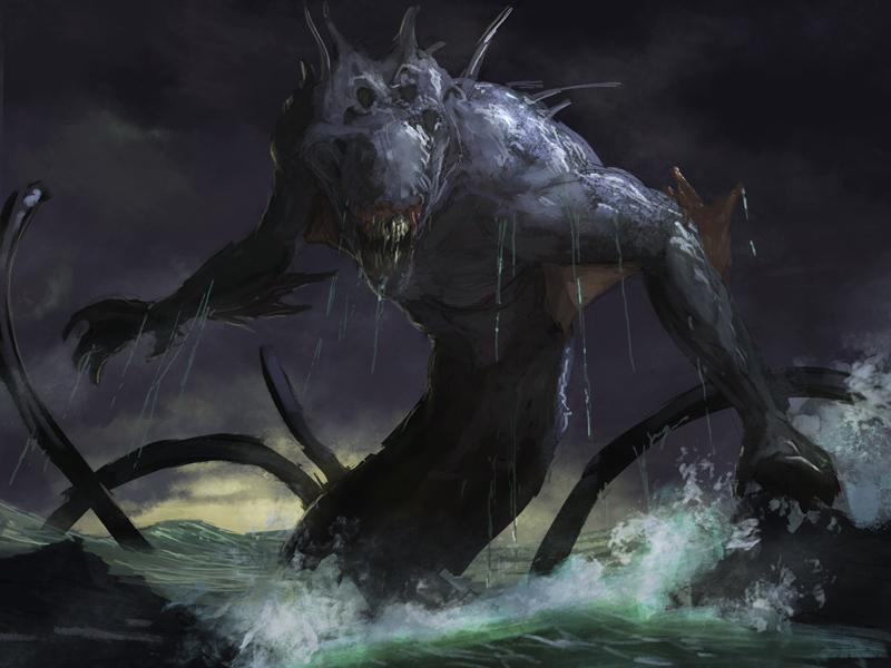 Kraken rough 2 by LozanoX