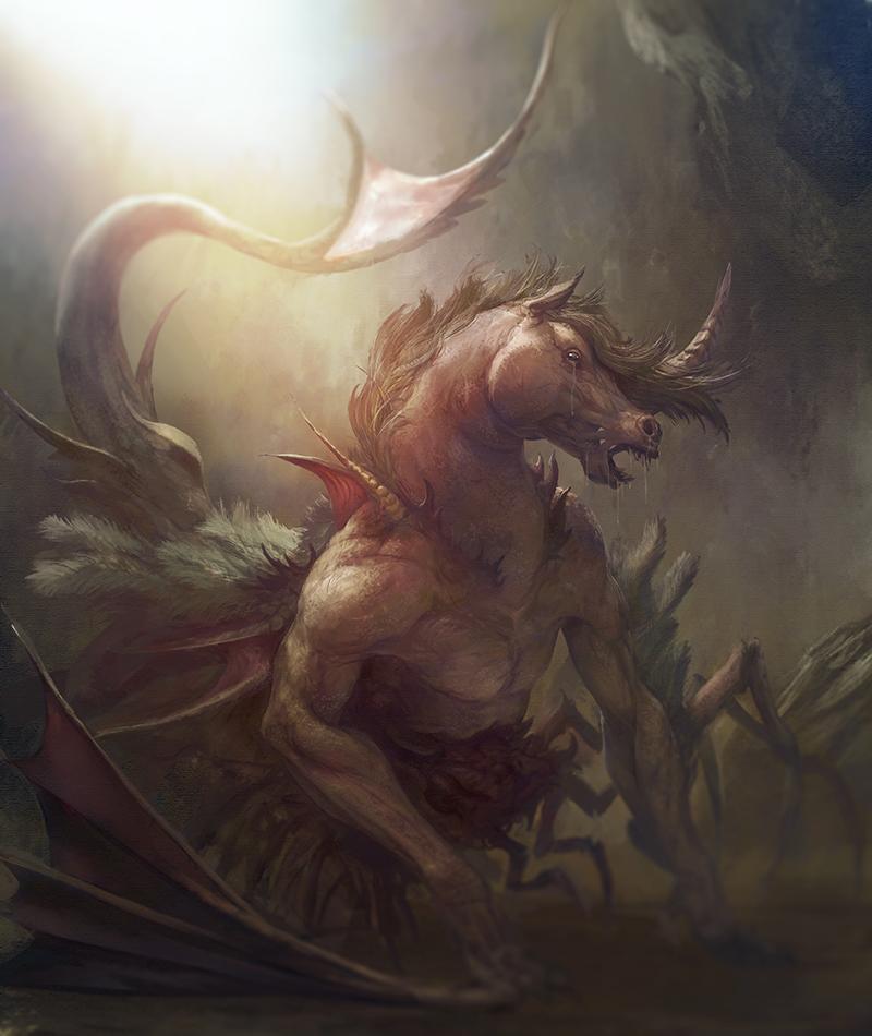 Crying Pegasus by LozanoX
