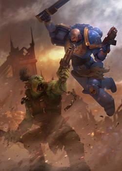 Warhammer 40K fan-art