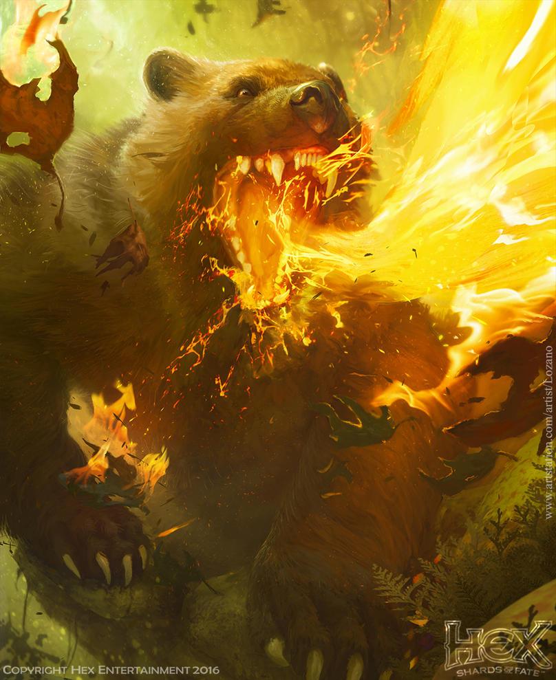 Flamebreath Wolverine by LozanoX