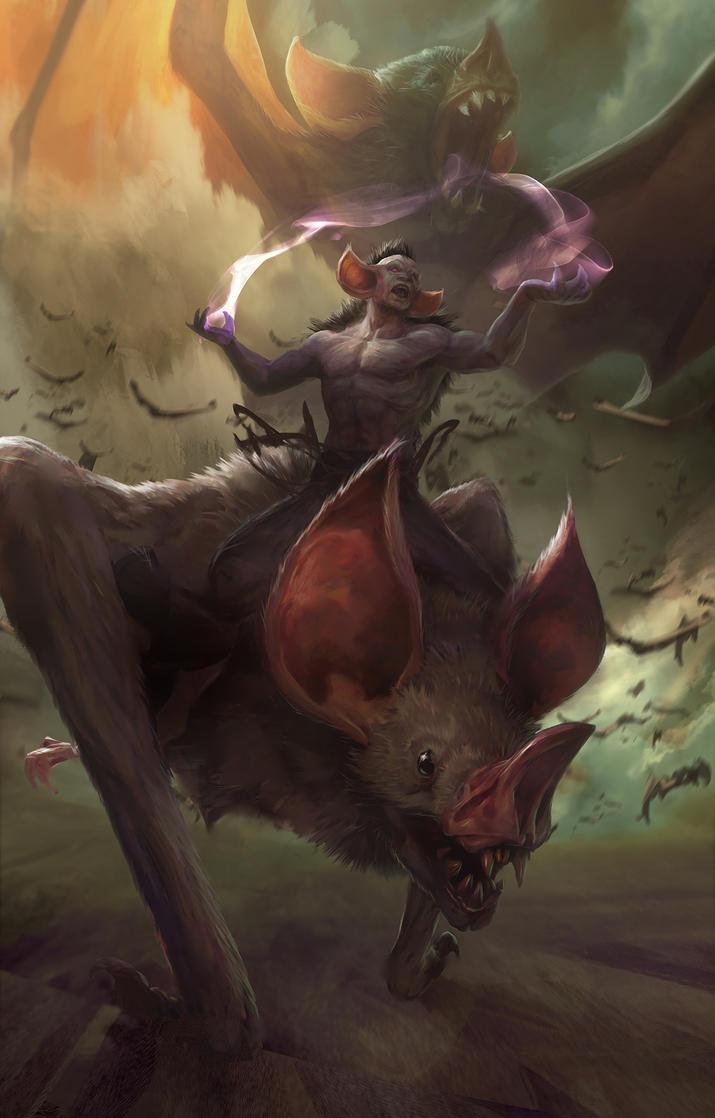 Bats by LozanoX