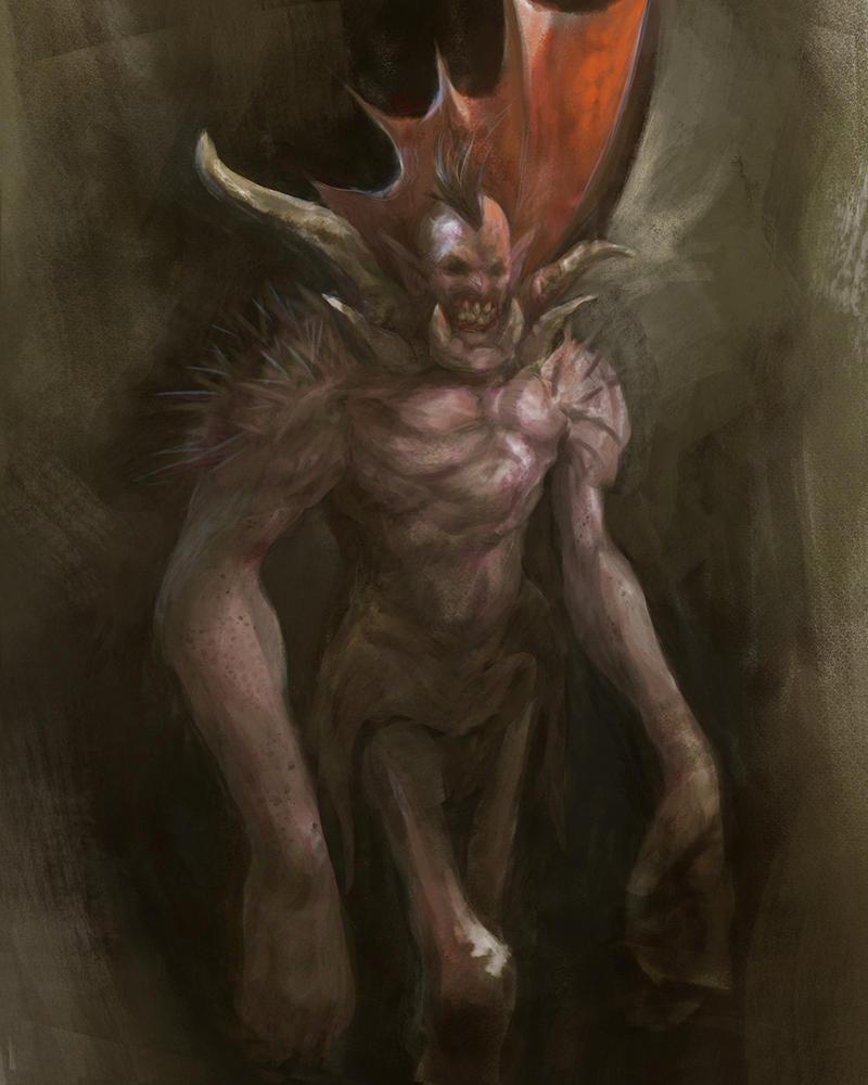 Spyder Demon - sketch by LozanoX