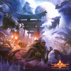 Five spirit gate by LozanoX