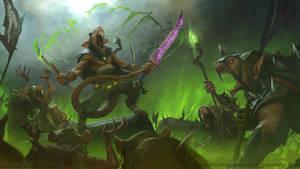 Snikch win artwork - Total War WarhammerII DLC
