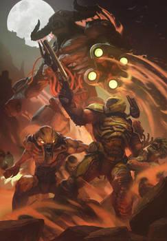 Doom Eternal - Fan-art