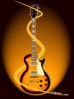 guitar gibson by rendotz