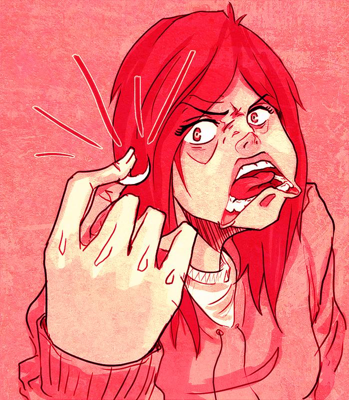 - Fingernail of Terror - by coreymill