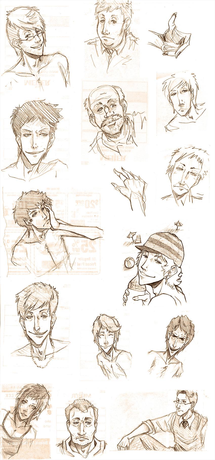 - Sketch Dumpage - by coreymill