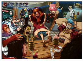 - One Piece: Space Race - by coreymill