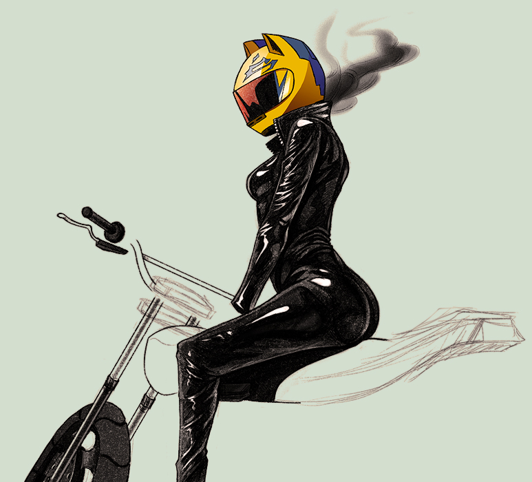 - Celty WIP - by coreymill