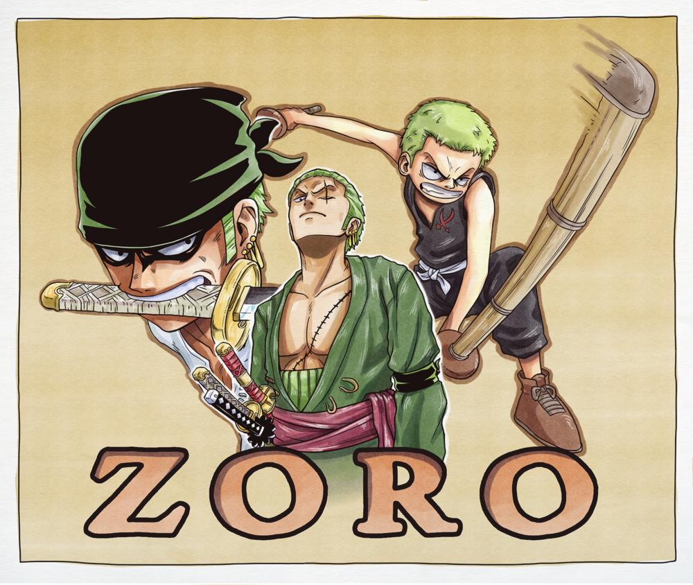 - Roronoa Zoro - by coreymill