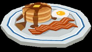- Low Poly Breakfast -