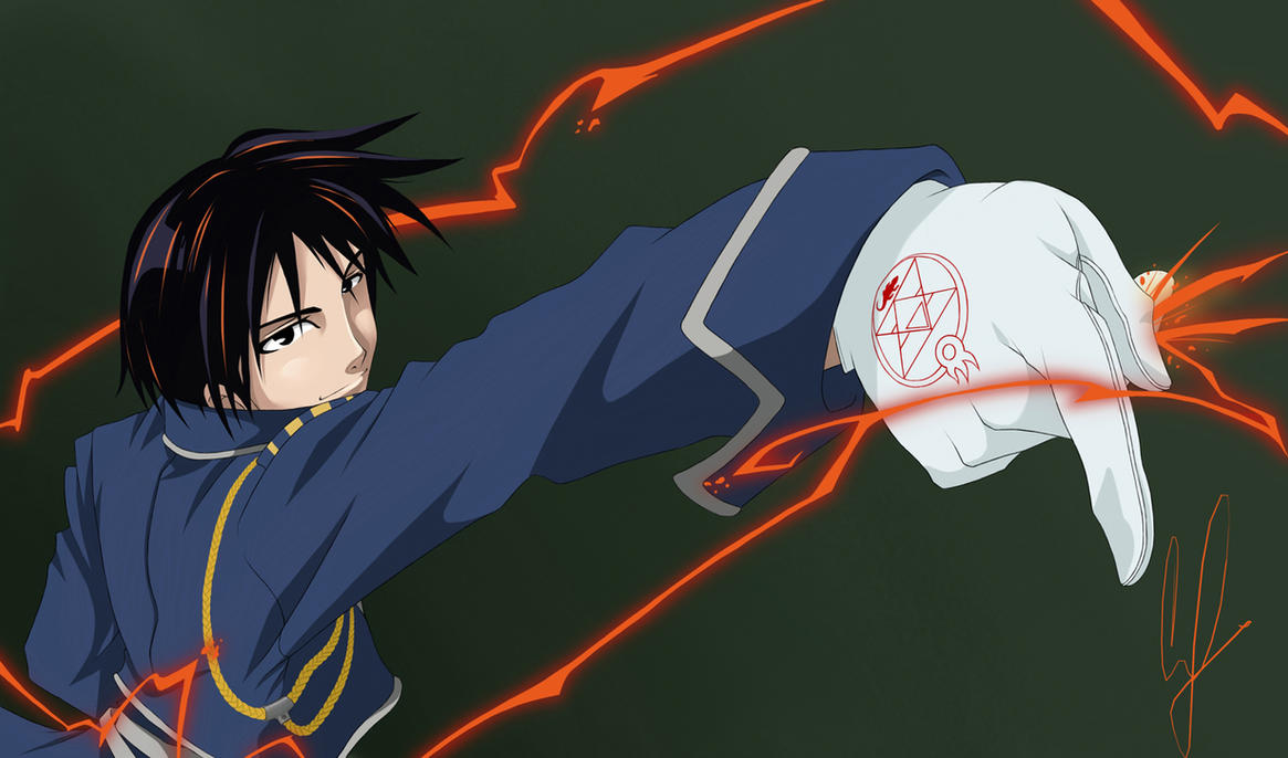 Roy Mustang -Flame Alchemist- by coreymill