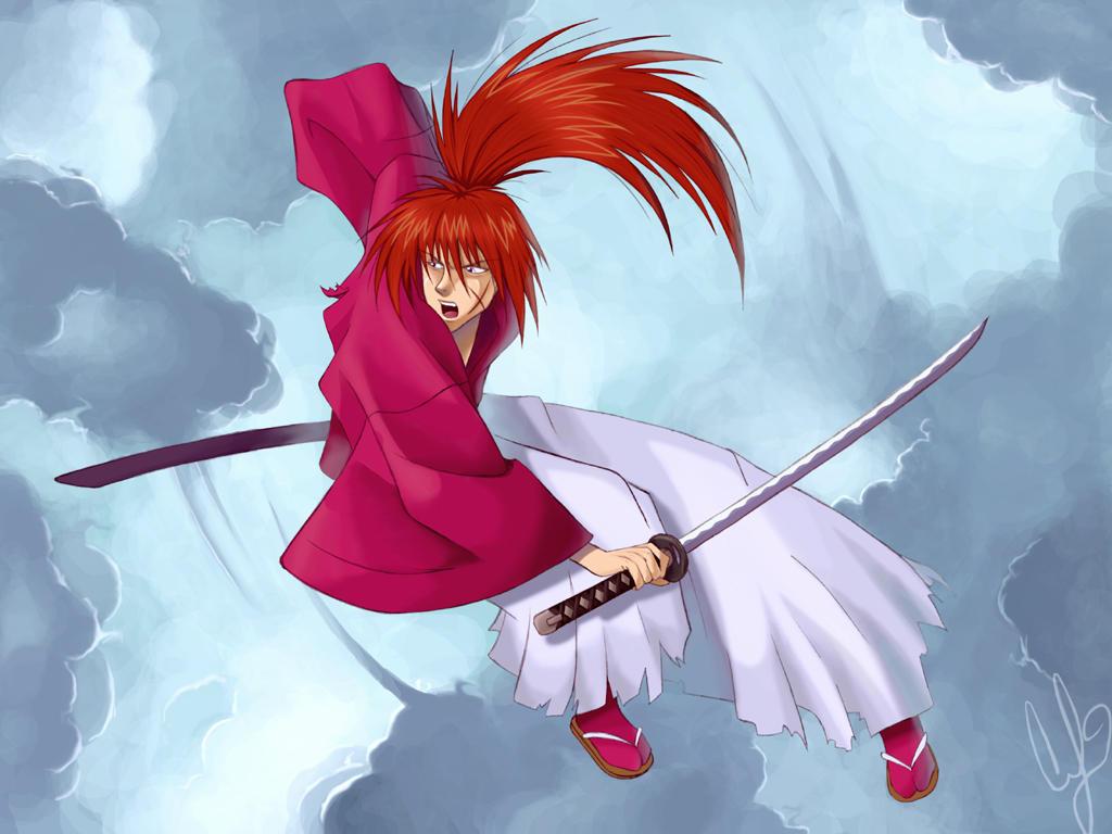 -Himura Kenshin- by coreymill