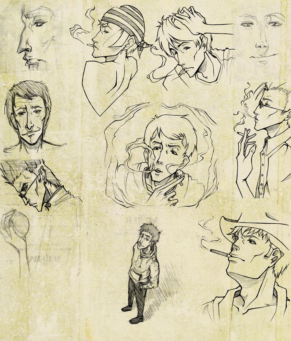 - Sketch Dump - by coreymill