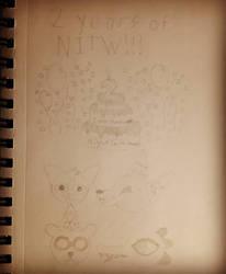 Ajay draws NITW 2 year Anniversary!  by AjayRulezzz