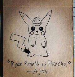 Pikachu Quick Sketch  by AjayRulezzz