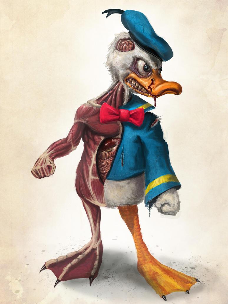 Anatomy Of Donald Duck By Esbjornnord On Deviantart