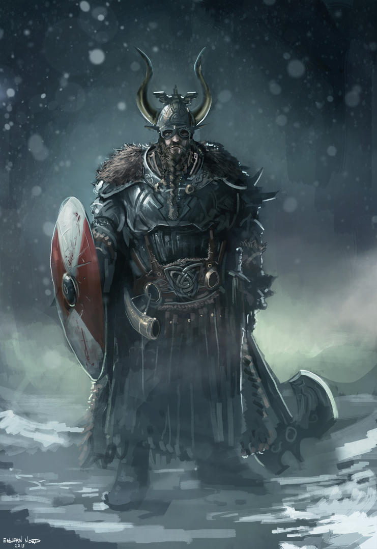 viking king by EsbjornNord  Viking