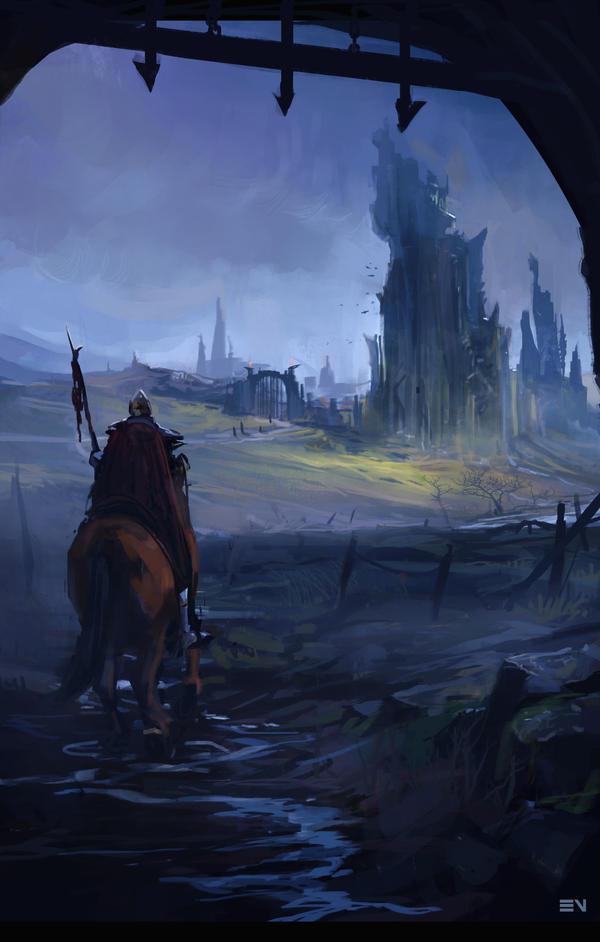 Returning by EsbjornNord