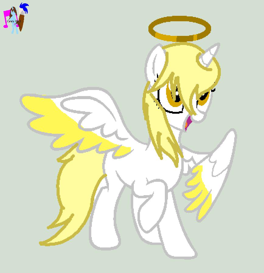 My little pony base unicorn with wings - photo#10