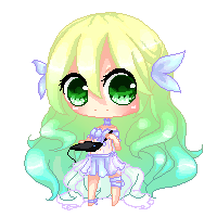 HAPPY BIRTHDAY SHIYUMI PIXEL CHIBI!!!!!!!!!!!!! by rainscarce