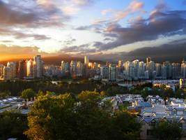 Vancouver Skyline by ericr33914