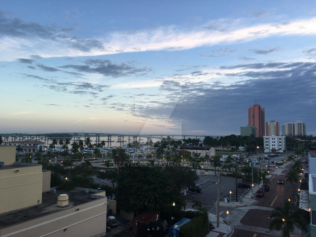 Fort myers at dawn by fuzzyedges on deviantart for Craft fair fort myers