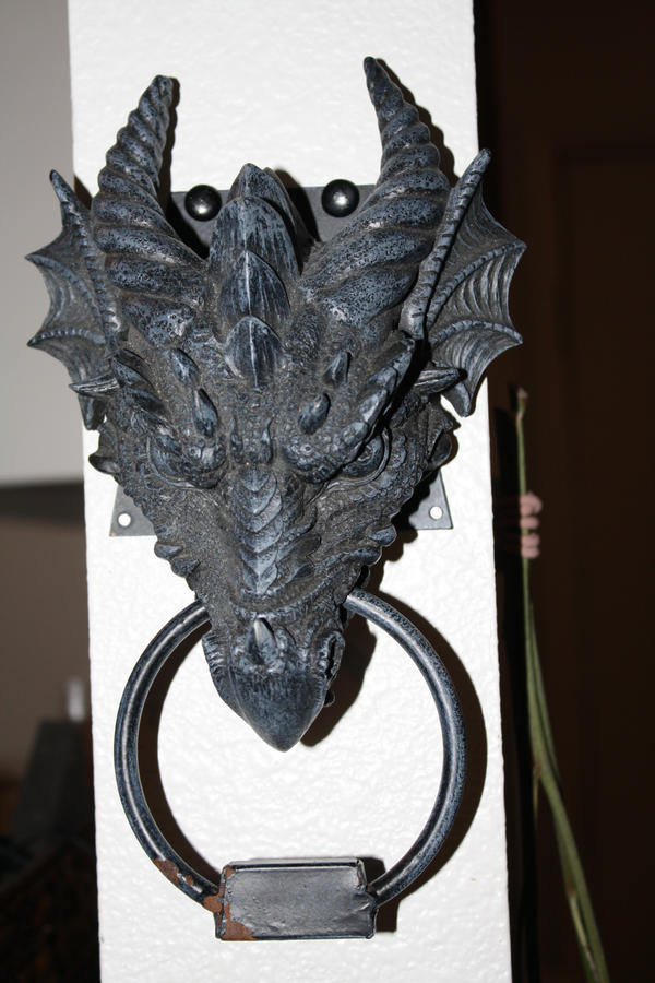 Ordinaire Dragon Door Knocker 2 By Acryunheard Stock ...