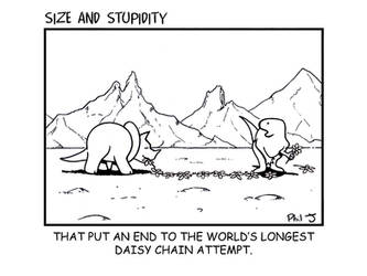 Size and Stupidity. Daisychain by Size-And-Stupidity