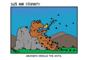 Ants by Size-And-Stupidity