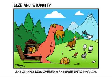 Aslan appetizer by Size-And-Stupidity
