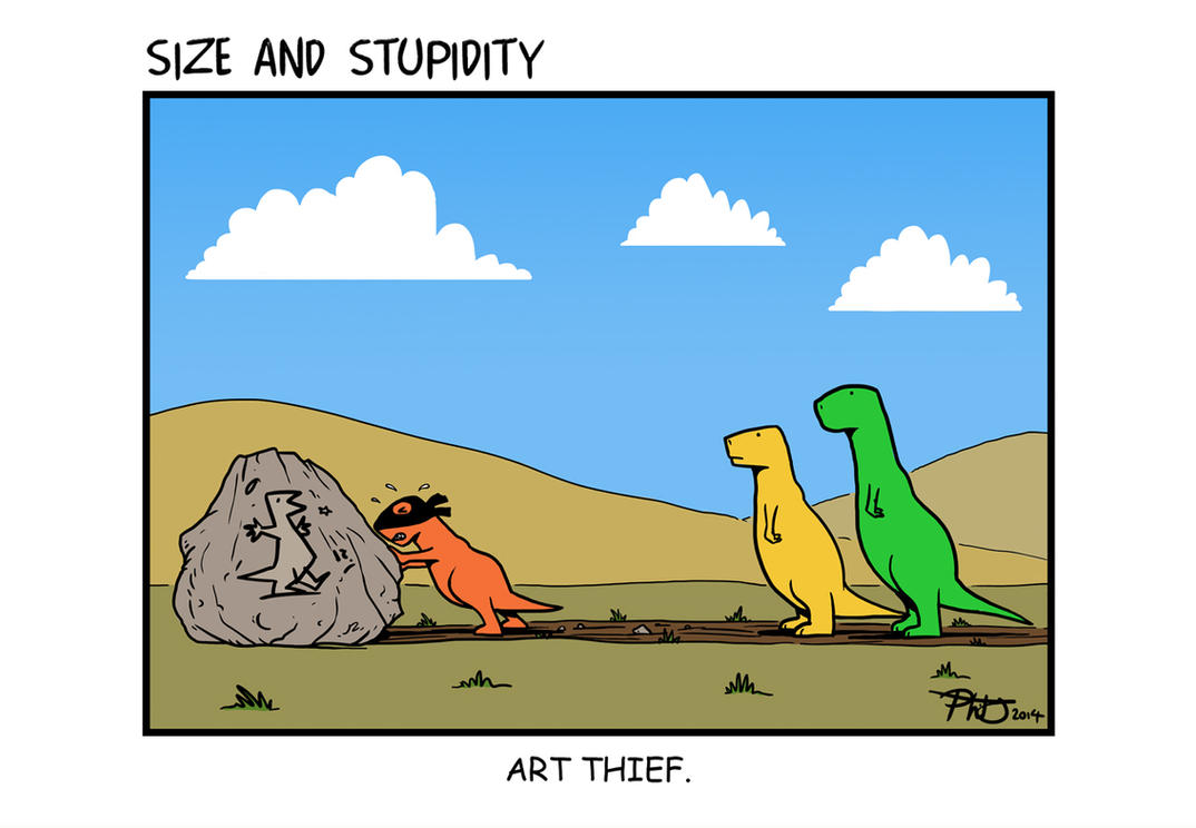 Art Thief by Size-And-Stupidity