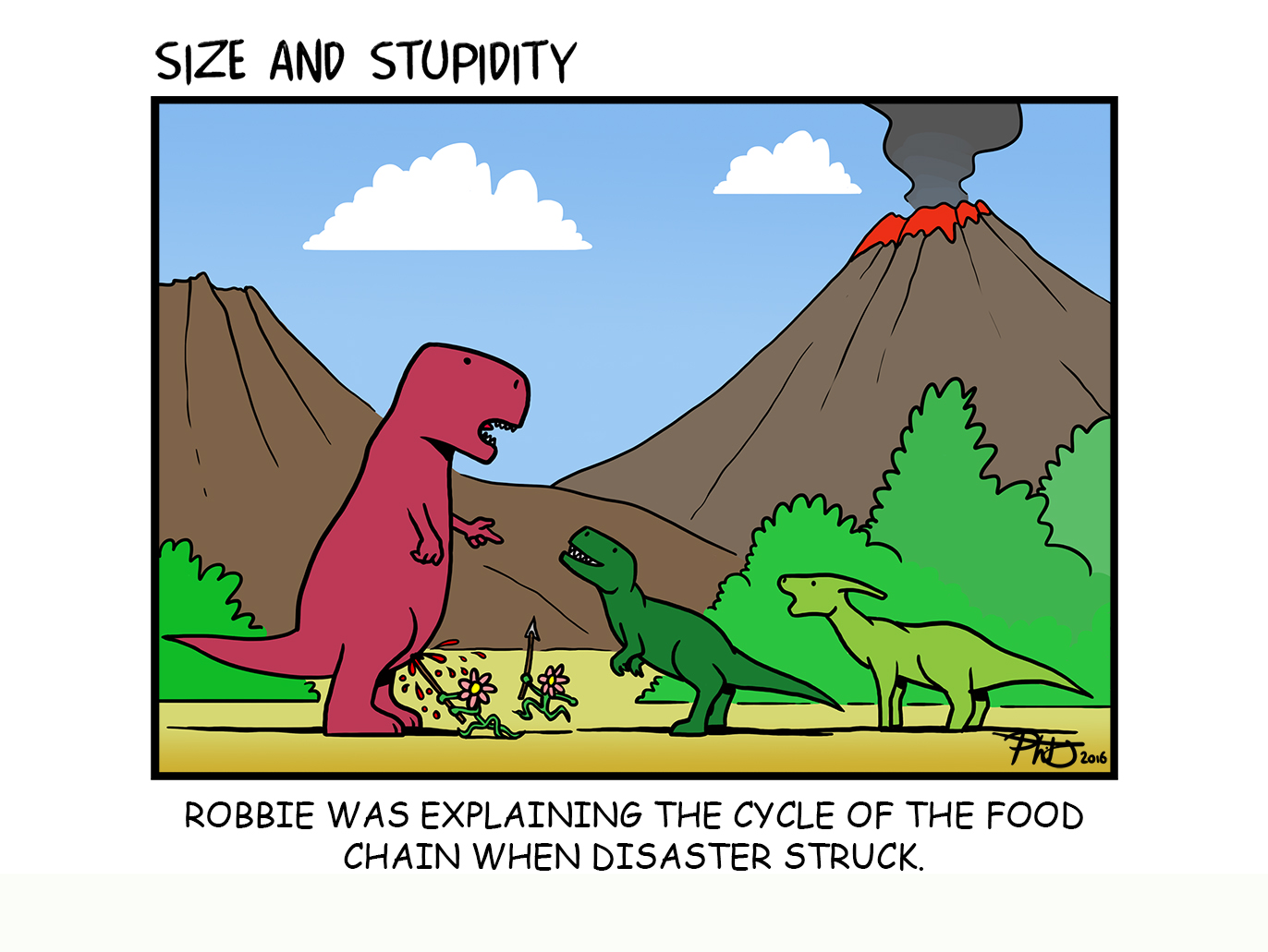 Food Chain by Size-And-Stupidity