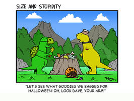 Trick or Treat by Size-And-Stupidity