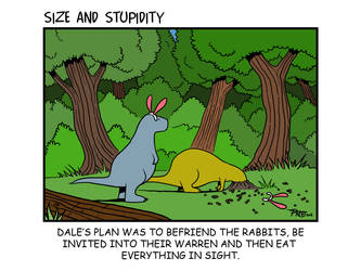 Rabbitses by Size-And-Stupidity