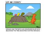 Tree Monsters