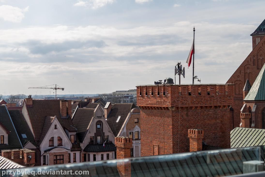 Kolobrzeg rooftops by PrzybyleQ