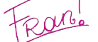 Firma de Franchesca de violetta by Noroboenserio