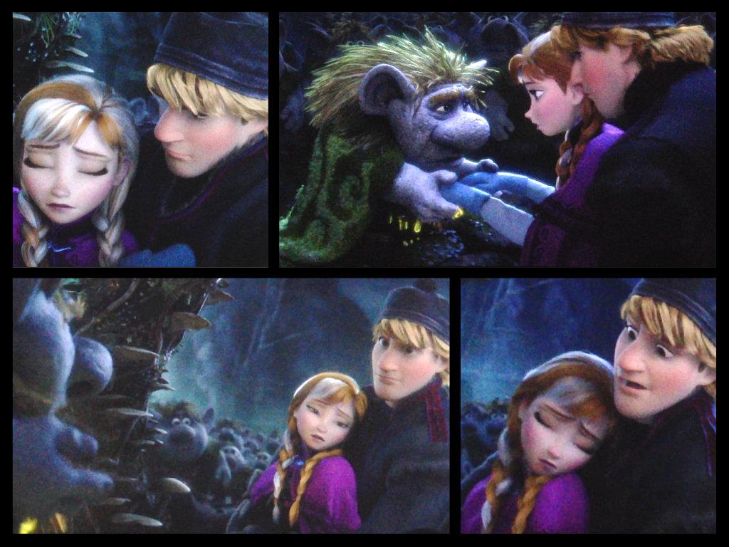 Kristoff and Anna from 'Frozen' by DenaTook on DeviantArt