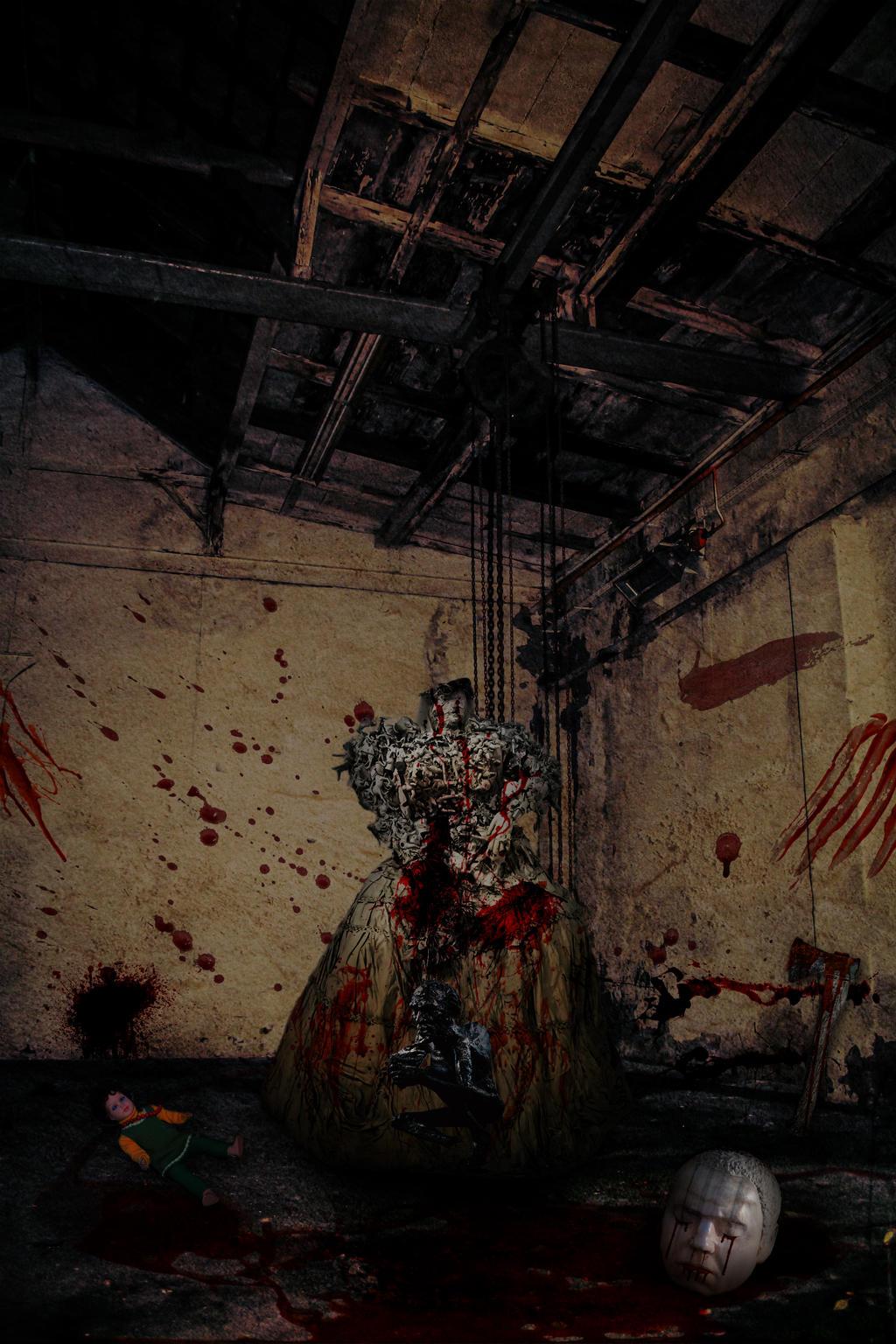 Eerie Scene.