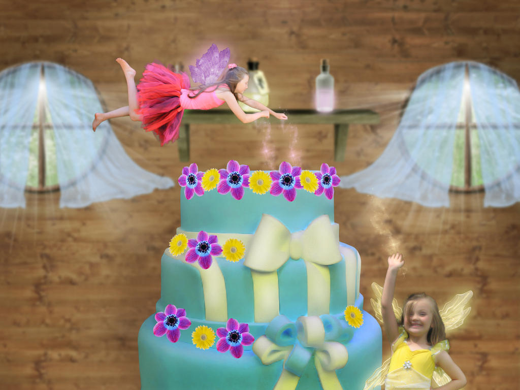 Fairy Cake by Aysha1994raven on DeviantArt