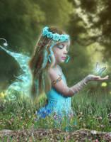 Blue Fairy (New Version) by Aysha1994raven