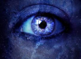 Galaxy eyes by Aysha1994raven