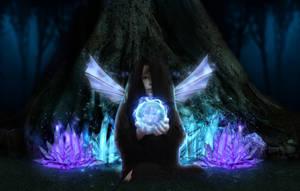 Crystal Fairy by Aysha1994raven