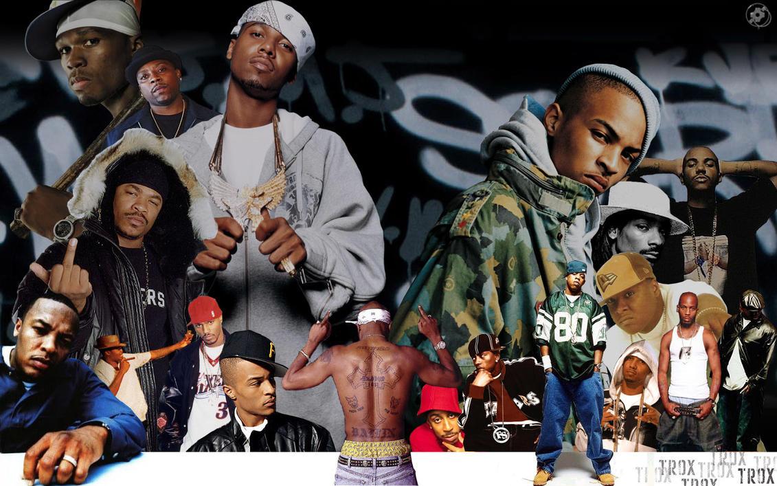 Rappers' Wall by Troxone