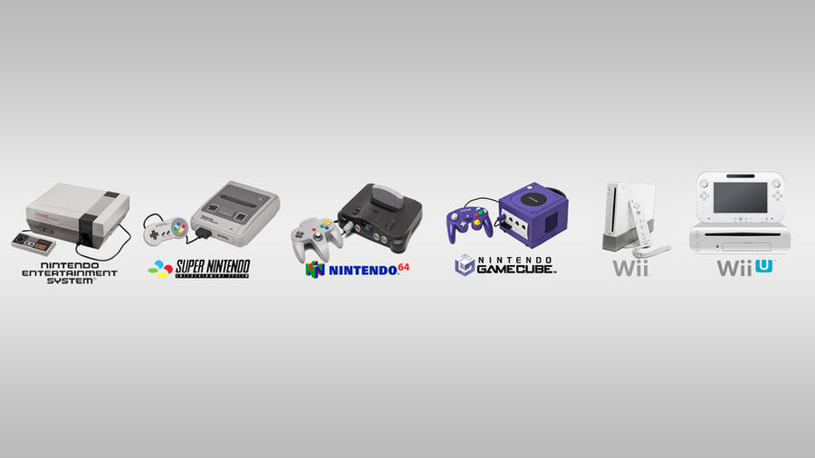 Nintendo Consoles Wallpaper by Shadow86SK on deviantART