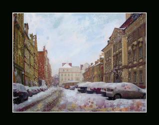 The Last Snowfall by brush4u
