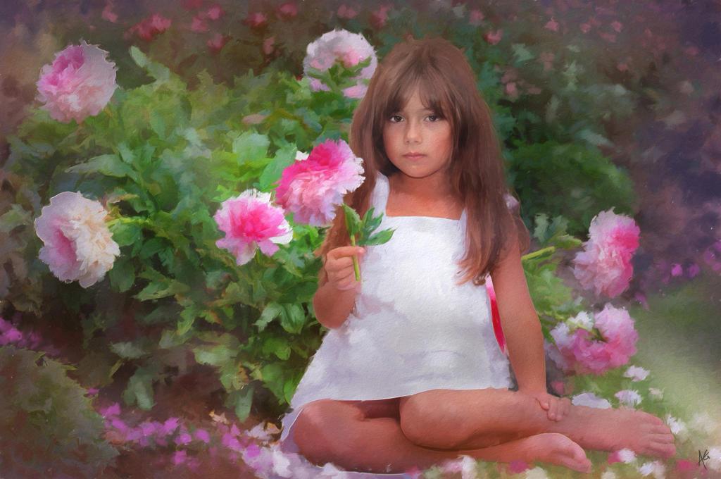 La Fille de Fleur by brush4u