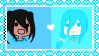 [Stamp] Yasuka x Sora is OTP by Cutie-P